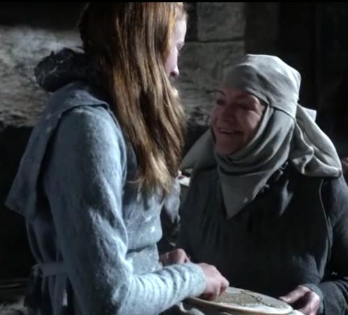 Sansa Stark ans Septa Mordane