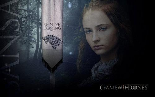 Sansa Stark 壁纸