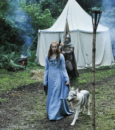 Sansa Stark with Lady