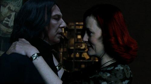 Severus Snape wolpeyper titled Severus Snape & Lily Evans