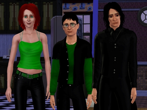 Severus Snape & Lily Evans (sims 3) - PC GAME
