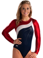 Sharp Accent Competitive Leotard - shawn-johnson photo