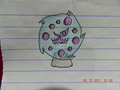 Shiny Spiritomb Drawing