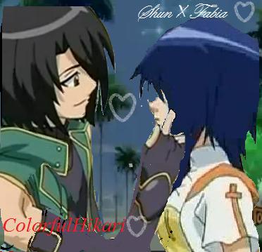 Shun and Fabia<3