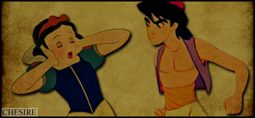 Snow White/Aladdin