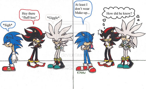 Sonic Make-up Joke