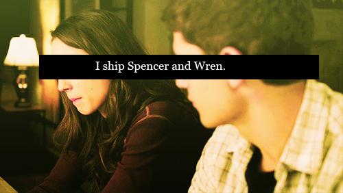 Spencer/Wren ♥