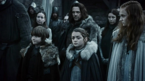 House Stark wallpaper possibly with a fur coat called Stark family