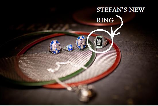 Stefan's NEW ring