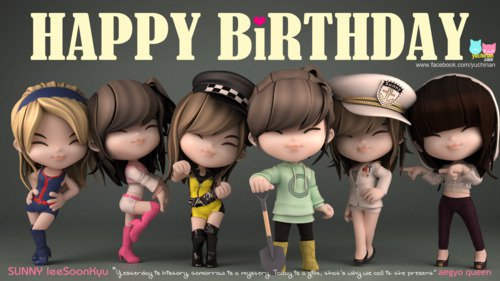 Sunny Happy Birthday !