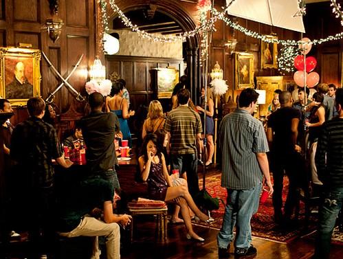 TVD Season 3 Set fotos