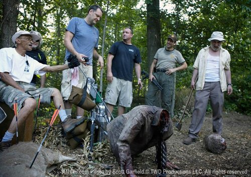 TWD - Behind the Scenes
