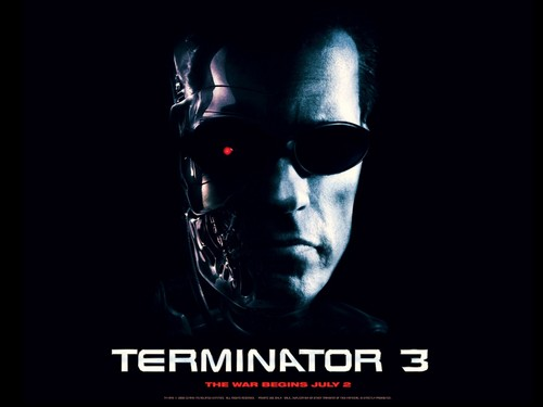 Terminator achtergrond possibly containing sunglasses entitled Terminator 3