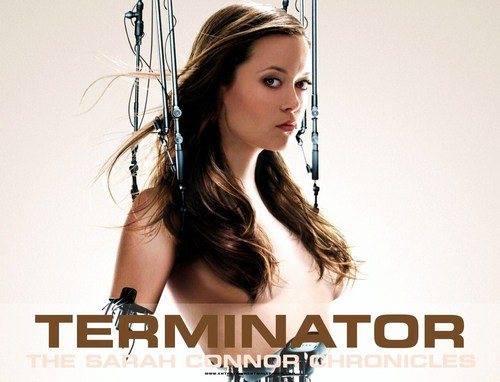 Cameron Phillips - Terminator SCC wallpaper with a portrait entitled Terminator Sarah Connor Chronicles