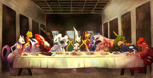 The Last Supper -Pokemon version-