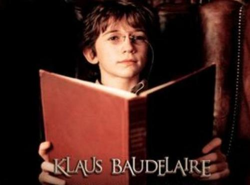 Klaus Baudelaire fond d'écran called The Reader