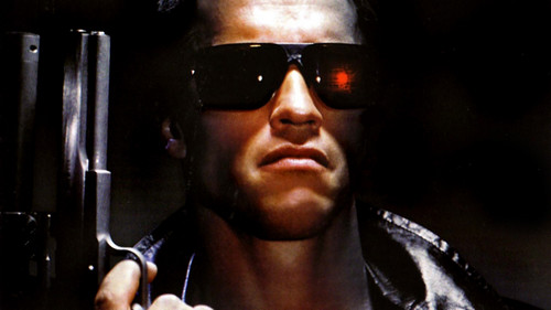 Terminator achtergrond containing sunglasses called The Terminator