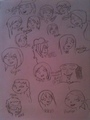 Total Drama Rama Cast - total-drama-island fan art