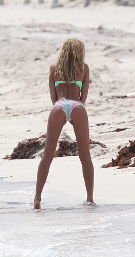 Victoria's Secret Bikini Photoshoot Candids in St. Barts