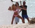 Victoria's Secret Bikini Photoshoot Candids in St. Barts