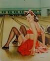 Vintage Pin Up Girls