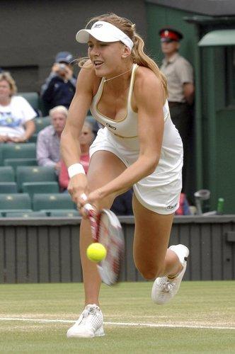 Nicole Vaidišová won't Fall Over