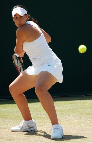 Marion Bartoli is Springloaded to Strike