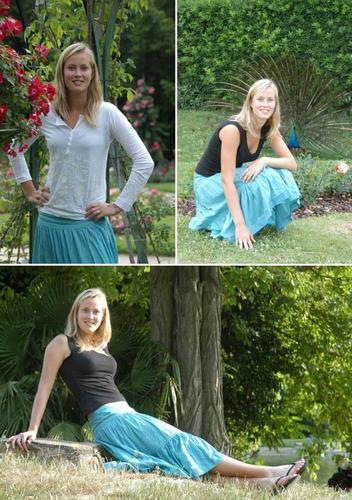 Mathilde Johansson in Country tennis Girl