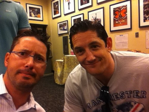 Wade Barrett and Todd Grisham