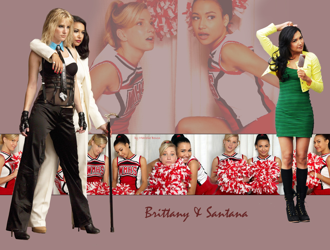 Wallpaper Brittana Brittany And Santana Photo 24523703