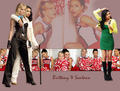 Wallpaper Brittana - brittany-and-santana photo
