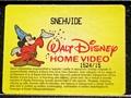 Walt Disney VHS - Snow White
