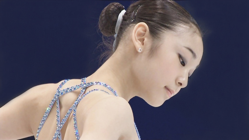 Yuna Kim wallpaper titled Yuna Kim, in competiton