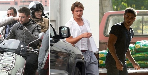 Zac Efron 2011 - 2012 Film