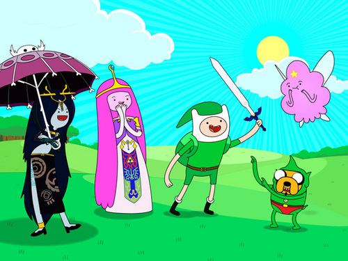 Zelda time - adventure-time-with-finn-and-jake Photo