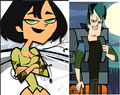 gwen and trent color swap - total-drama-island fan art