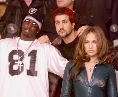 puff daddy & jennifer lopez - MTV photoshoot 2000