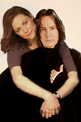 severus snape fondo de pantalla probably with a leisure wear, an outerwear, and a capucha, campana called severus snape & lily evans