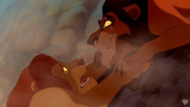 The lion king mufasa and scar - photo#21