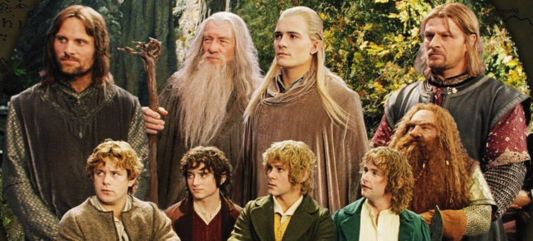 the virtues of fellowship courage wisdom and determination in lord of the rings return of the king a