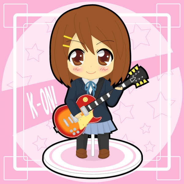 Chibi Yui With Guitar