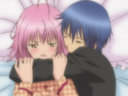 Ikuto And Amu Kiss Scene Shugo Chara Ikuto And Amu Kiss