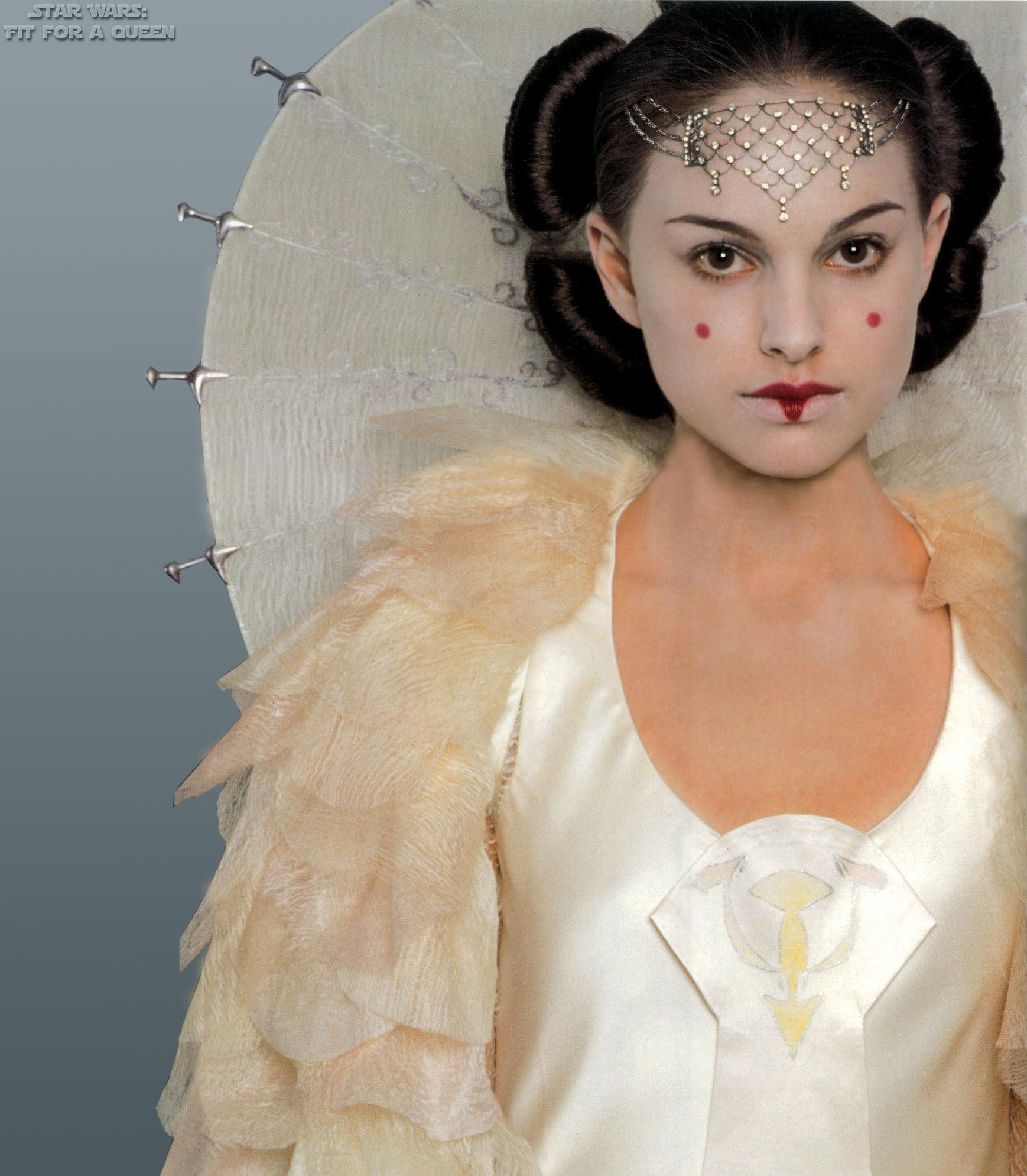 Costumekullan queen amidala make up tutorial - Princesse amidala ...