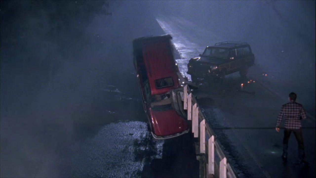 One Tree Hill Wedding Car Crash