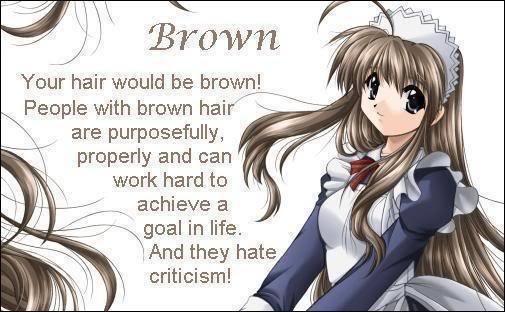preferito hair color? - Anime - fanpop