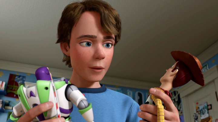 Disney Toy Story 4 Andy : Andy toy story