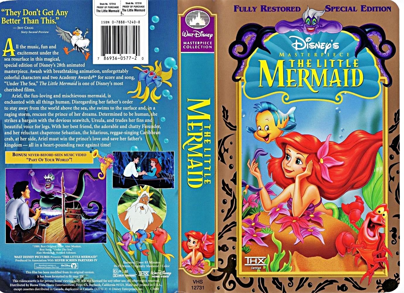 what version of  u0026quot the little mermaid u0026quot  do  ub2f9 uc2e0 own