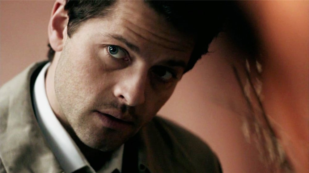 Misha Collins Confused Gif and of course
