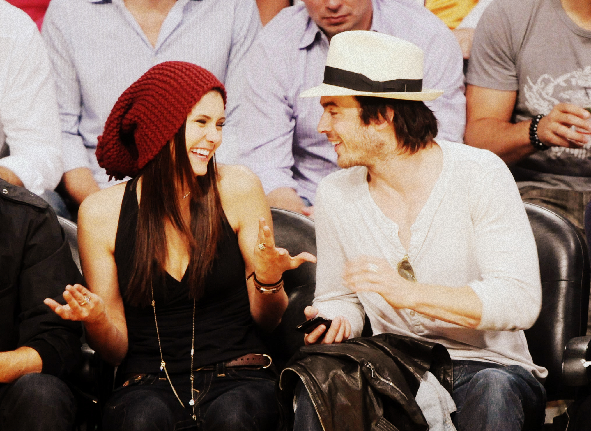 are elena and damon still dating in real life Are the vampire diaries' co-stars and former couple nina dobrev and ian somerhalder back together in real life according to a new report, yes they are.