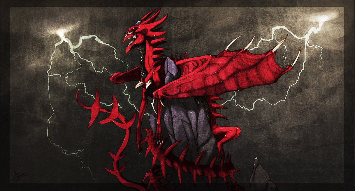 Yugioh Slifer Wallpaper yu gi oh Slifer Sky Dragon